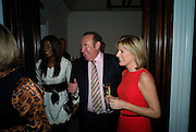 PHOEBE VELA; ANDREW NEIL; ANDREA CATHERWOOD;, Master and Commanders by Andrew Roberts book launch. Sotheby's Bond Street . London. 13 October 2008 *** Local Caption *** -DO NOT ARCHIVE -Copyright Photograph by Dafydd Jones. 248 Clapham Rd. London SW9 0PZ. Tel 0207 820 0771. www.dafjones.com