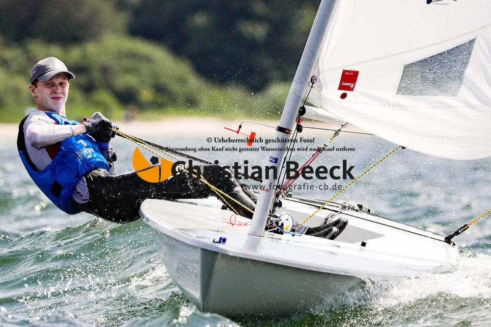 , Travemünder Woche 19. - 28.07.2019, Laser 4.7 - GER 208134 - Rob Dean WILLIM - Schlei-Segel-Club e. V