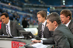 15.10.2011, Veltins Arena, Gelsenkirchen, GER, 1. FBL, FC Schalke 04 vs. 1. FC Kaiserslautern, im Bild Ex-Schiedsrichter Markus Merk zu Gast im Talk beim TV Sener SKY // during FC Schalke 04 vs. 1. FC Kaiserslautern at Veltins Arena, Gelsenkirchen, GER, 2011-10-15. EXPA Pictures © 2011, PhotoCredit: EXPA/ nph/  Kurth       ****** out of GER / CRO  / BEL ******
