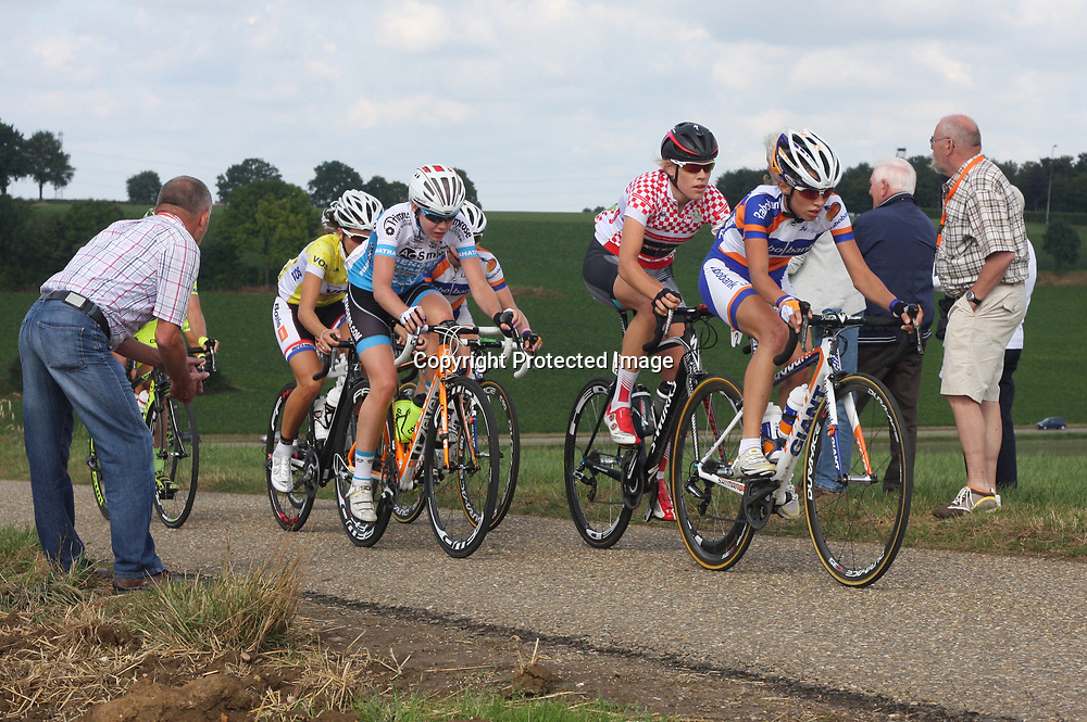 Boels Rental Ladiestour 2013 Stage 6 Bunde - Berg en Terblijt Ellen van Dijk,Anna van der Breggen,