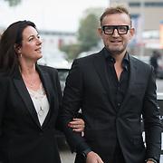 NLD/Amsterdam/20181006 - Uitreiking JFK Greatest Man Award 2018, Prins Bernhard Jr. en Prinses Annette Sekrève