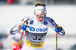 March 10, 2019 - Oslo, NORWAY - 190310 Evelina Settlin of Sweden competes in the women's 30 km classic technique mass start during the FIS World Cup on March 10, 2019 in Oslo..Photo: Jon Olav Nesvold / BILDBYRÃ…N / kod JE / 160424 (Credit Image: © Jon Olav Nesvold/Bildbyran via ZUMA Press)