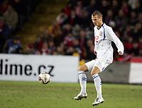 Fotball , 12. november 2005 , Play off , Norge - Tsjekkia 0-1<br /> Norway -  Czech Republic<br /> David Rozehnal , Tsjekkia