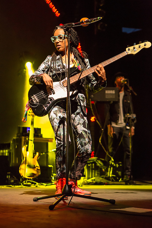 "Esperanza Spalding performing from her new series ""Emily's D+Evolution."""