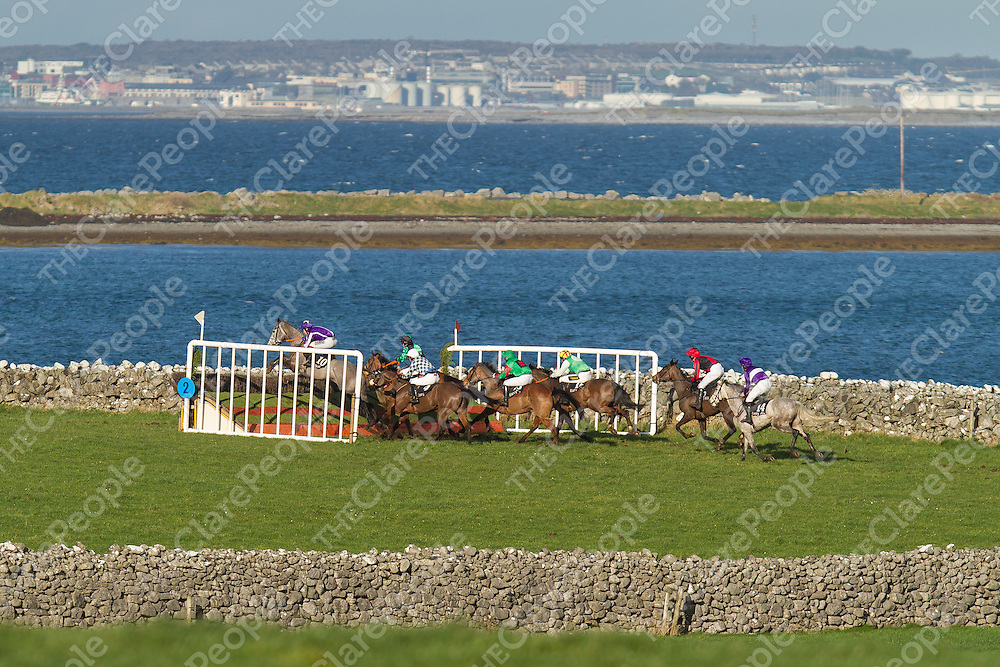 The 2017 Bellharbour point to point with the Atlantic Ocean as a backdrop
