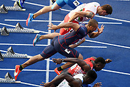 Jimmy Vicaut competes in men 100m during the European Championships 2018, at Olympic Stadium in Berlin, Germany, Day 1, on August 7, 2018 - Photo Philippe Millereau / KMSP / ProSportsImages / DPPI