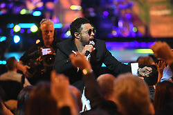 Shaggy performs at the Royal Albert Hall in London for a star-studded concert to celebrate the Queen's 92nd birthday.
