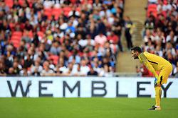 5 August 2017 -  Pre-Season Friendly - Tottenham Hotspur v Juventus - Tottenham Hotspur goalkeeper Hugo Lloris - Photo: Marc Atkins / Offside.