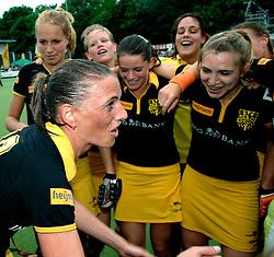 20-05-2007 HOCKEY: FINALE PLAY OFF: DEN BOSCH - AMSTERDAM: DEN BOSCH <br /> Den Bosch voor de tiende keer op rij kampioen van de Rabo Hoofdklasse Dames. In de beslissende finale versloegen zij Amsterdam met 2-0 / Mijntje Donners<br /> ©2007-WWW.FOTOHOOGENDOORN.NL