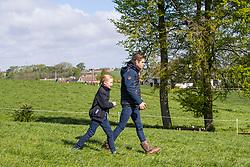 De Cleene Hotence, De Cleene Wouter, BEL<br /> Nationale finale AVEVE Eventing Cup voor Pony's - Maarkedal 2019<br /> © Hippo Foto - Dirk Caremans<br /> 27/04/2019