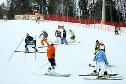 Course prior to the 10th Men's Slalom - Pokal Vitranc 2014 of FIS Alpine Ski World Cup 2013/2014, on March 8, 2014 in Vitranc, Kranjska Gora, Slovenia. Photo by Matic Klansek Velej / Sportida