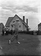 Golf - Irish Amateur Open Championships at Royal Dublin, Dollymount..Joe Carr - Irish Close Champion..01/09/1954