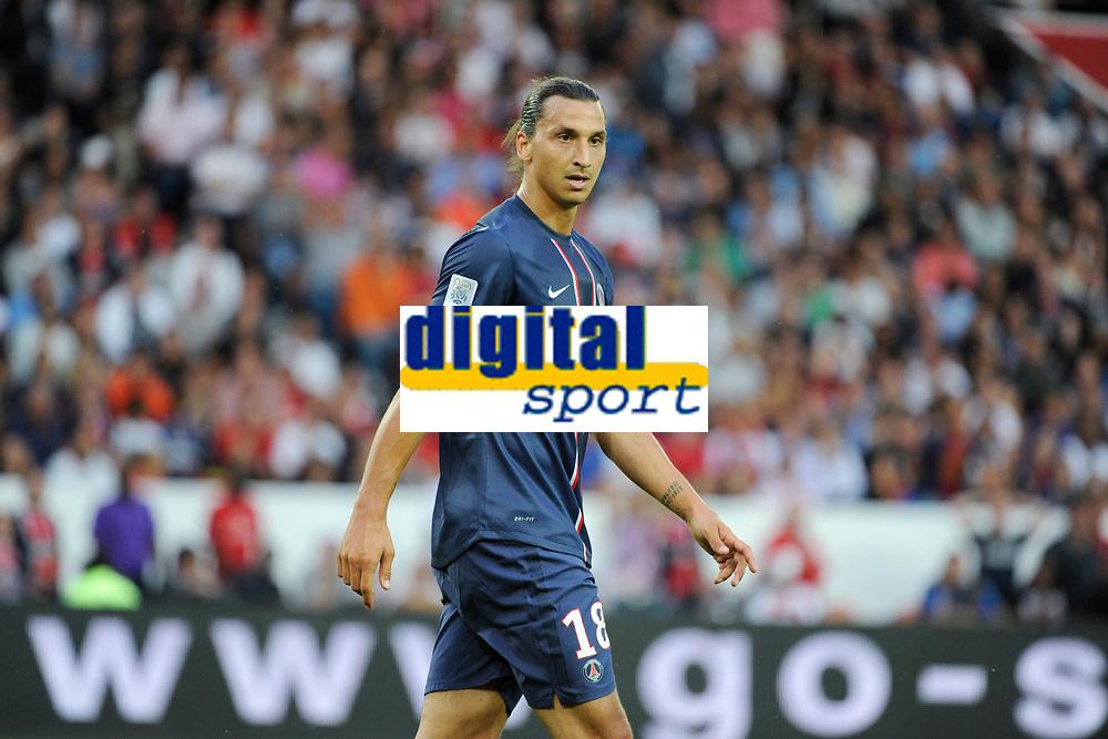 FOOTBALL - FRIENDLY GAMES 2012/2013 - TROPHEE DE PARIS - PARIS SAINT GERMAIN v FC BARCELONA - 04/08/2012 - PHOTO JEAN MARIE HERVIO / REGAMEDIA / DPPI - ZLATAN IBRAHIMOVIC (PSG)