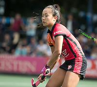 UTRECHT - HOCKEY -  Shihori Oikawa (Oranje-Rood)   tijdens  de hoofdklasse hockeywedstrijd dames Kampong-Oranje-Rood (0-5) .COPYRIGHT KOEN SUYK