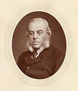 'John Winston Spencer-Churchill, 7th Duke of Marlborough (1822-1893) c1880 ,English Conservative statesman, grandfather of the Prime Minister Winston Churchill.'