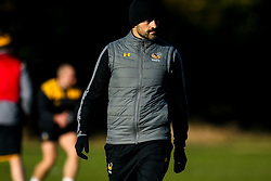 during training ahead of the European Challenge Cup fixture against SU Agen - Mandatory by-line: Robbie Stephenson/JMP - 18/11/2019 - RUGBY - Broadstreet Rugby Football Club - Coventry , Warwickshire - Wasps Training Session