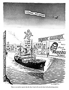 There is no truth in reports that the Suez Canal will soon be lined with advertising posters.