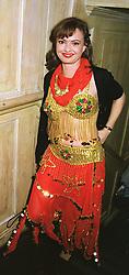 COUNTESS MAYA VON SCHONBURG ZU GLAUCHAU & WALDENBURG, at a party in London on 25th March 1999.MPT 106