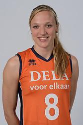21-05-2014 NED: Selectie Nederlands volleybal team vrouwen, Arnhem<br /> Op Papendal werd het Nederlands team volleybal seizoen 2014-2015 gepresenteerd /