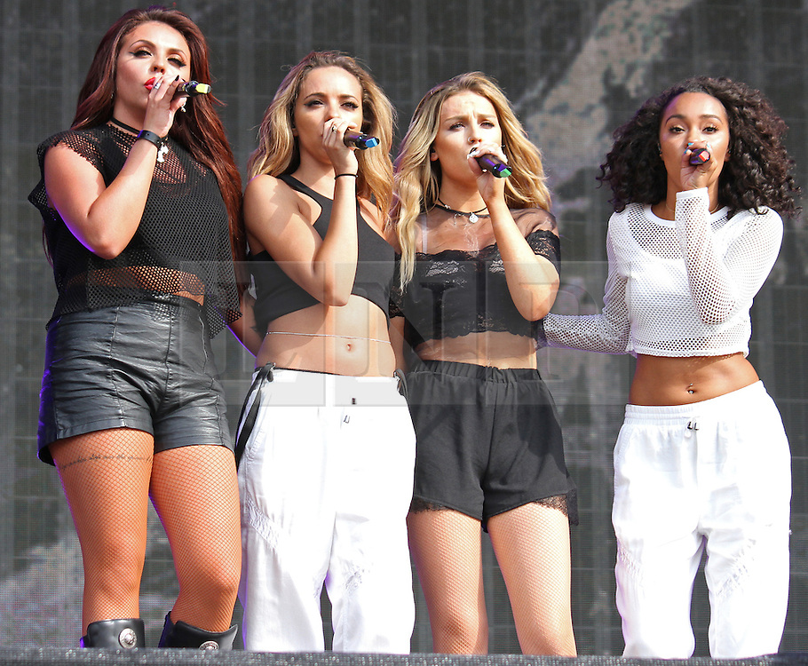 © Licensed to London News Pictures. 13/07/2014, UK. Little Mix, British Summer Time, Hyde Park, London UK, 13 July 2014. Photo credit : Brett D. Cove/Piqtured/LNP