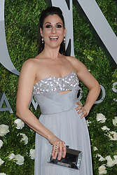 June 11, 2017 - New York, NY, USA - June 11, 2017  New York City..Stephanie J. Block attending the 71st Annual Tony Awards arrivals on June 11, 2017 in New York City. (Credit Image: © Kristin Callahan/Ace Pictures via ZUMA Press)