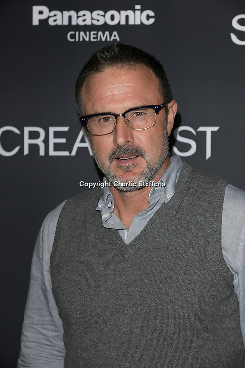 """DAVID ARQUETTE attends the premiere screening of """"We Summon the Darkness"""" on closing night of the 19th Annual SCREAMFEST Horror Film Festival at TCL Chinese Theatre 6 in Los Angeles, California."""