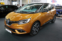 05.04.2016, Zagreb, CRO, Zagreb Auto Show, im Bild Renault Scenic // Press day at Zagreb fair before official opening of Zagreb Auto Show at Zagreb, Croatia on 2016/04/05. EXPA Pictures © 2016, PhotoCredit: EXPA/ Pixsell/ Dalibor Urukalovic<br /> <br /> *****ATTENTION - for AUT, SLO, SUI, SWE, ITA, FRA only*****