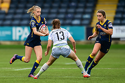 Vicky Laflin of Worcester Valkyries in action - Mandatory by-line: Craig Thomas/JMP - 30/09/2017 - RUGBY - Sixways Stadium - Worcester, England - Worcester Valkyries v Saracens Women - Tyrrells Premier 15s
