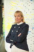 Environmental headshot of the head of HR at IBM Watson.