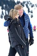 Fotosessie met de koninklijke familie in Lech /// Photoshoot with the Dutch royal family in Lech .<br /> <br /> Op de foto/ On the photo: Koningin Maxima en Koning Willem Alexander ///// Queen Maxima and King Willem Alexander