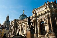 Art Academy (Kunstakademie), Dresden, Saxony, Germany