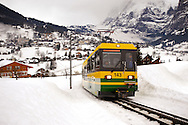 Grindelwald to Kleiner Scheidegg Train - Swiss Alps .<br /> <br /> Visit our SWITZERLAND  & ALPS PHOTO COLLECTIONS for more  photos  to browse of  download or buy as prints https://funkystock.photoshelter.com/gallery-collection/Pictures-Images-of-Switzerland-Photos-of-Swiss-Alps-Landmark-Sites/C0000DPgRJMSrQ3U