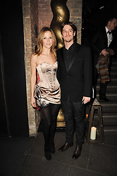JESSE & TILLY WOOD at The Love Ball hosted by Natalia Vodianova and Lucy Yeomans to raise funds for The Naked Heart Foundation held at The Round House, Chalk Farm, London on 23rd February 2010.