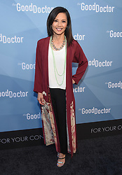 Freddie Highmore at The Good Doctor Emmy FYC Event held at Sony Pictures Studios on May 22, 2018 in Culver City, CA. © O'Connor/AFF-USA.com. 22 May 2018 Pictured: Tamlyn Tomita. Photo credit: O'Connor/AFF-USA.com / MEGA TheMegaAgency.com +1 888 505 6342