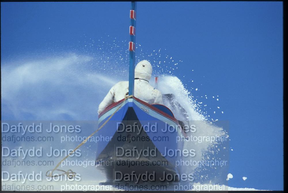 Steve Smithwick, . Dangerous Sports Club Ski Race. St. Moritz 1983© Copyright Photograph by Dafydd Jones 66 Stockwell Park Rd. London SW9 0DA Tel 020 7733 0108 www.dafjones.com