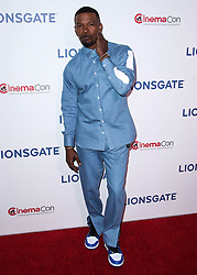 LAS VEGAS, NV, USA - APRIL 26: CinemaCon 2018 - Lionsgate Presentation held at The Colosseum at Caesars Palace during CinemaCon, the official convention of the National Association of Theatre Owners on April 26, 2018 in Las Vegas, Nevada, United States. 26 Apr 2018 Pictured: Jamie Foxx. Photo credit: Xavier Collin/Image Press Agency / MEGA TheMegaAgency.com +1 888 505 6342
