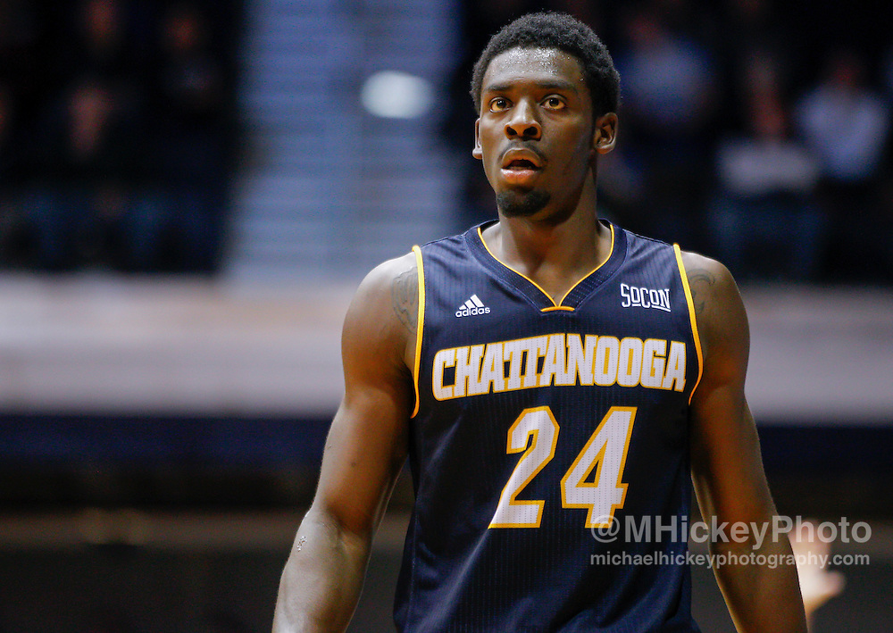 INDIANAPOLIS, IN - NOVEMBER 18: Casey Jones #24 of the Chattanooga Mocs seen during the game against the Butler Bulldogs at Hinkle Fieldhouse on November 18, 2014 in Indianapolis, Indiana. (Photo by Michael Hickey/Getty Images) *** Local Caption *** Casey Jones