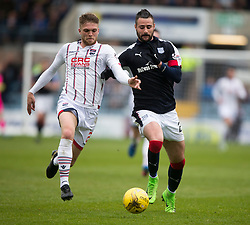 Dundee 1 v 1 Ross County, SPFL Ladbrokes Premiership played 13/5/2017 at Dens Park.