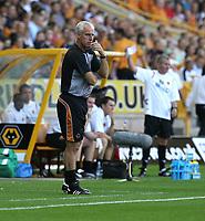 Photo: Paul Greenwood. <br />Wolverhampton Wanderers v Watford. Coca Cola Championship. 11/08/2007. <br />Wolves manager Mick McCarthy