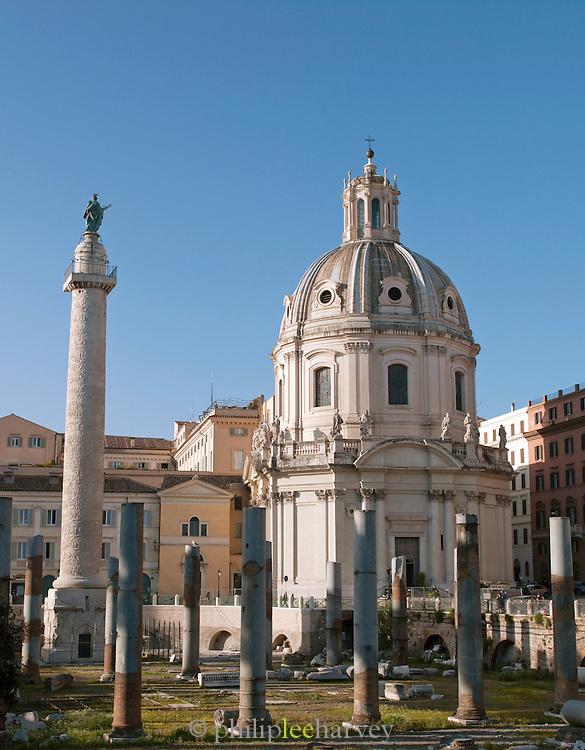 Trajan's Forum, Rome, Italy.