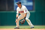 Second baseman Asdrubal Cabrera of Cleveland..The Minnesota Twins defeated the Cleveland Indians 4-2 on Sunday, July 27, 2008 at Progressive Field in Cleveland.