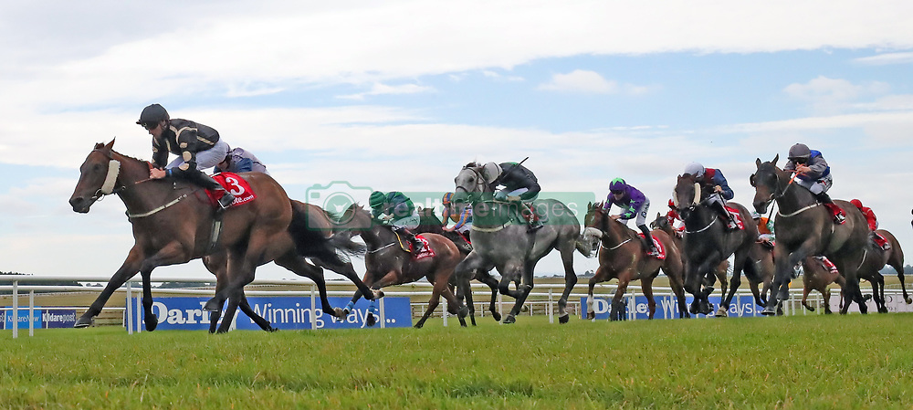 Intisaab ridden by Daniel Tudhope wins The Tote Scurry Handicap during day one of the Darley Irish Oaks Weekend at Curragh Racecourse, County Kildare.