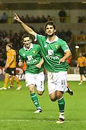 Wolverhampton Wonderers v Norwich City 201211
