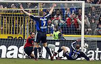 Fotball, 7. mars 2004, Brugge - Anderlecht, Rune Lange, Bugge