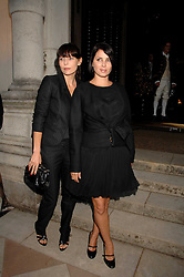 Left to right, JEMIMA FRENCH and SADIE FROST at the Moet Mirage Evening at Holland Park Opera House, London W8 on 16th September 2007.<br /><br />NON EXCLUSIVE - WORLD RIGHTS