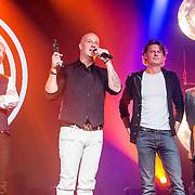 NLD/Amsterdam//20140331 - Uitreiking Edison Pop 2014, Blof met hun Award