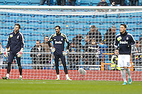 27.01.2013 SPAIN -  La Liga 12/13 Matchday 21th  match played between Real Madrid CF vs Getafe C.F. (4-0) at Santiago Bernabeu stadium. The picture show Diego Lopez (spanish goalkeeper of Real Madrid)
