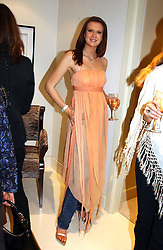 HENRIETTA DUPS at the UK launch of Tarun Tahiliani Design in association with the British Luxury Council held at The Knightsbridge, London SW7 on 10th March 2005.<br /><br />NON EXCLUSIVE - WORLD RIGHTS