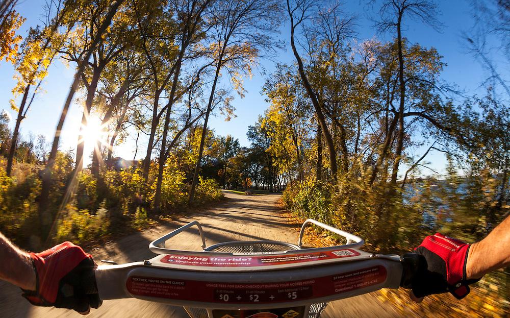 Bike trail. (Photo © Andy Manis)