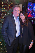 NO FEE PICTURES<br /> 31/12/15 Packie Bonner and wife Ann enjoying the NYF 3Arena Celebrations, part of the New Years Festival in Dublin. nyf.com running from 30th Dec to 1st Jan in Dublin. Picture: Arthur Carron